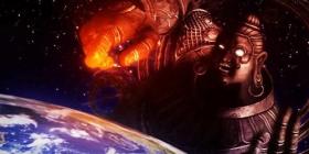 【游戏吉尼斯】游戏史上个头最大的角色!!毁灭地球只需一拳!