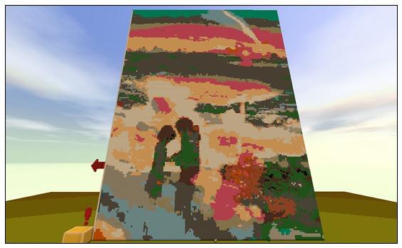 迷你世界创造地图:你的名字 好玩存档分享