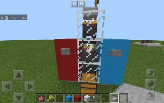 我的世界自动养鸡场 手机版红石机械教程1.2