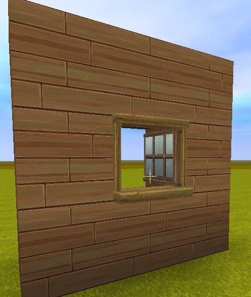 迷你世界玻璃窗