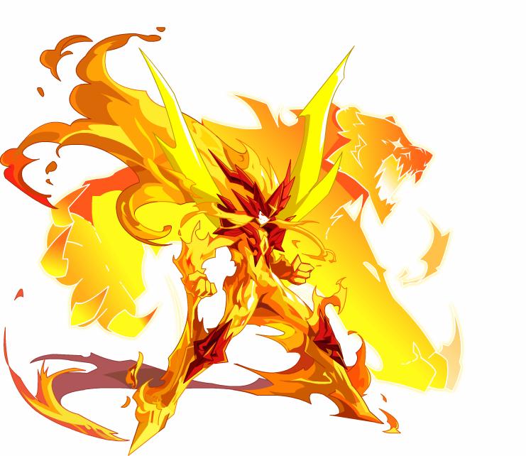 奥奇传说焚天力量圣魂大图 焚天力量圣魂高清大图