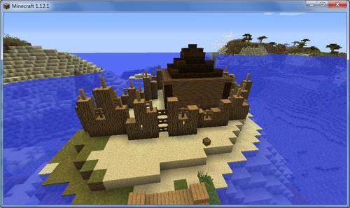 我的世界未知岛屿存档下载