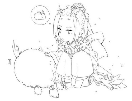 阴阳师雪童子