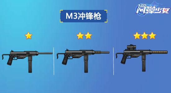 闪弹少女M3冲锋枪