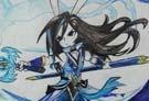 洛克王国手绘之幽凰剑圣