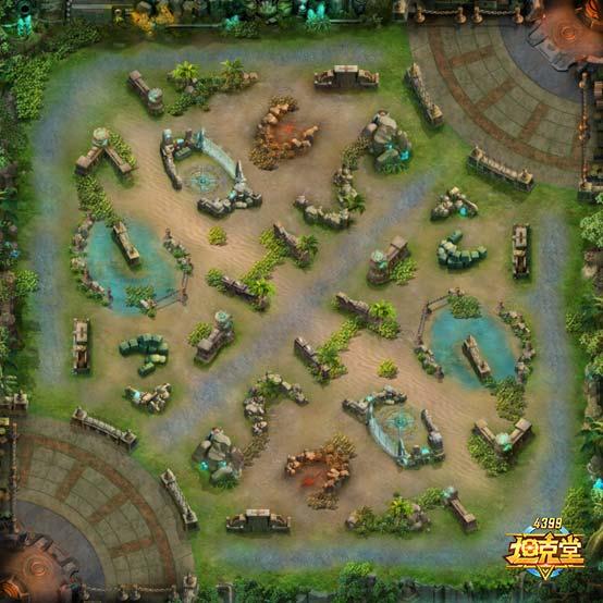 坦克堂前线战区地图新增草丛