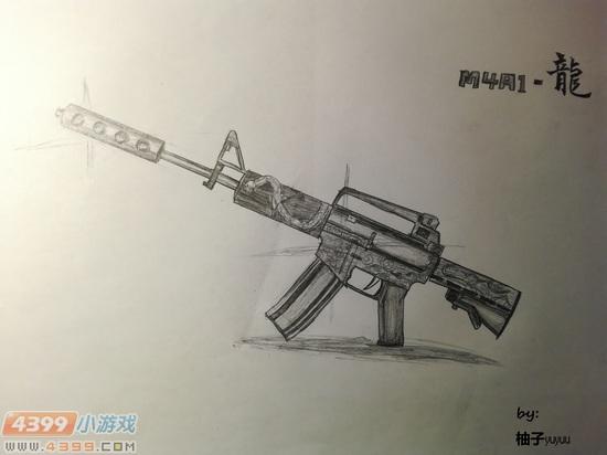ÉúËÀ¾Ñ»÷Íæ¼ÒÊÖ»æ-M4A1-Áú