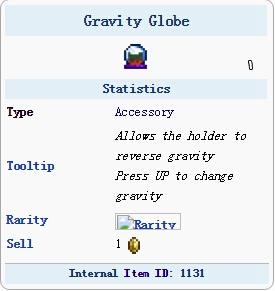 泰拉瑞亚重力球