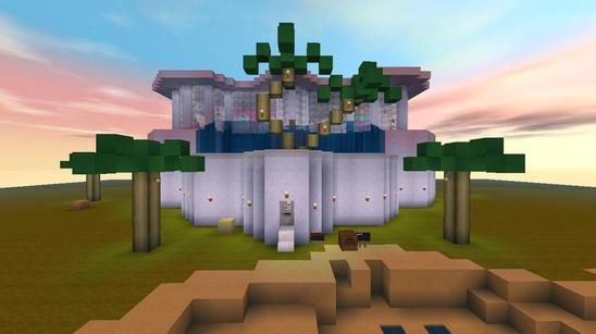 迷你世界創造地圖:芭比之夢想豪宅 好玩存檔分享