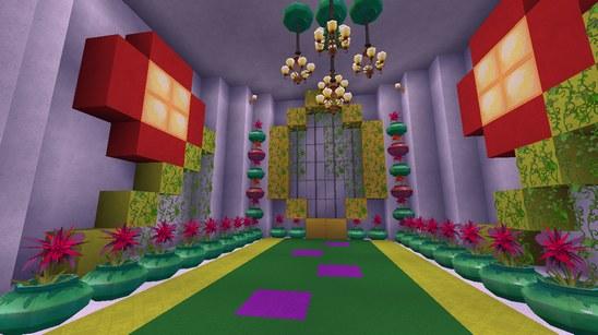 迷你世界创造地图:芭比之梦想豪宅 好玩存档分享
