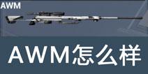 据点守卫放逐游戏AWM怎么样 AWM狙击枪好不好用