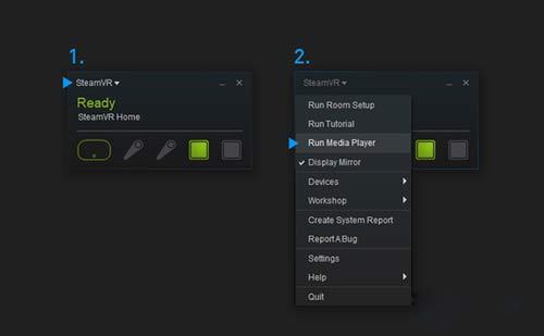 SteamVR也能看片了 Valve首个VR视频播放器上线