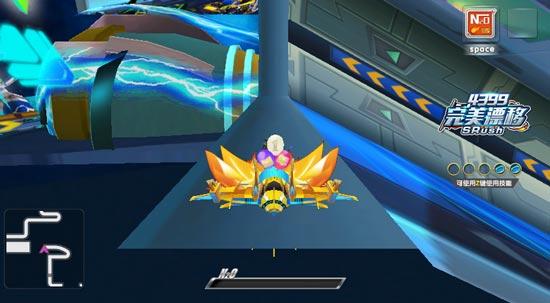 完美漂移游戏截图之超级遁地术