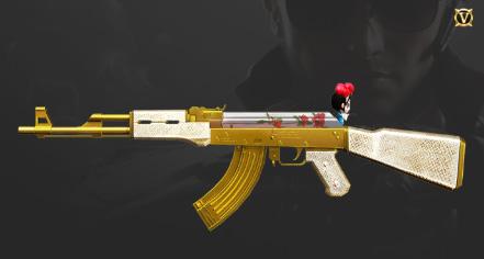 CF手游AK47-牡丹精灵