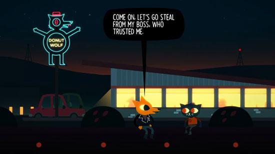 剧情冒险游戏《夜猫森林》将推出手机版