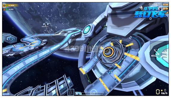 梦幻飞车星陨空间站赛道