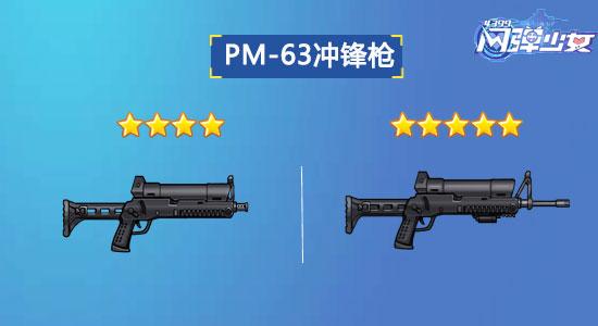 闪弹少女PM-63冲锋枪