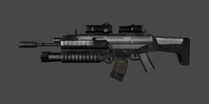 丛林法则手游SCAR步枪