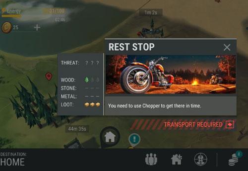 地球末日生存怎么放摩托车