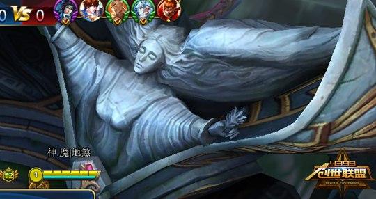 创世联盟游戏截图之胜利女神的全貌