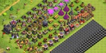 部落冲突第一大本营低本针对部落战的发展攻略!写给那些想玩法的首领