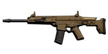 荒野行动SCAR-L怎么样 突击步枪SCAR-L属性解析