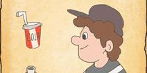 最囧游戏3第八关攻略 最囧游戏3果粒橙怎么喝图文详解