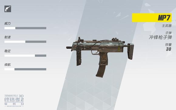 终结者2冲锋枪MP7