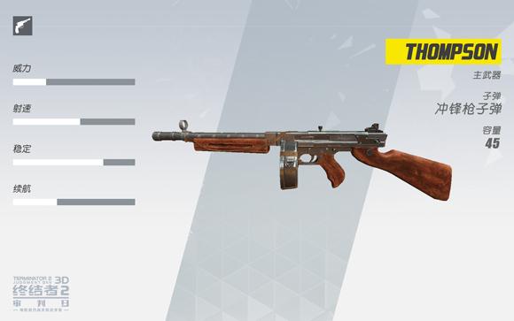 终结者2冲锋枪THOMPSON