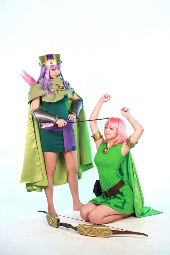 部落冲突cosplay图片