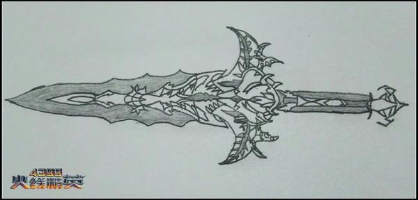 火线精英手绘嗜血魔剑