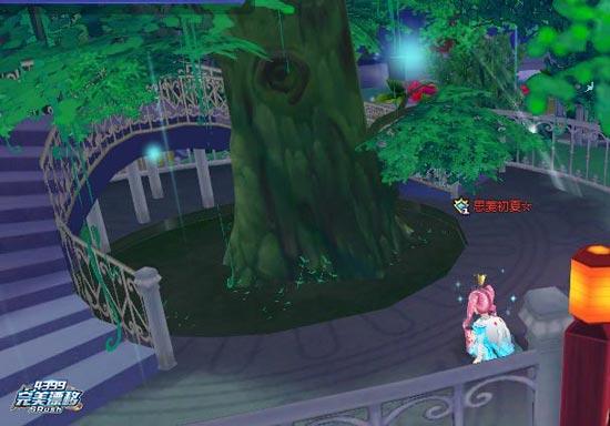 完美漂移游戏截图之许愿树