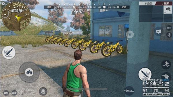 终结者2自行车