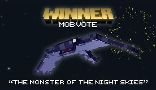我的世界Minecraft新生物确定 夜空生物B技能简介