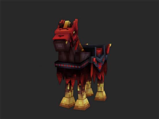 奶块遗忘之境新坐骑亮相 形似天启骑士战马