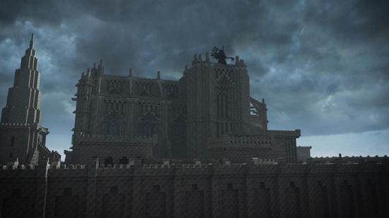 奶块遗忘之境地图曝光 黑云笼罩的哥特式城堡