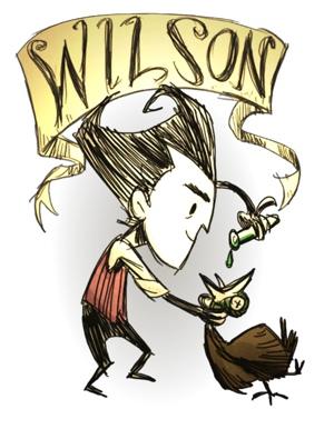 饥荒合辑版威尔森