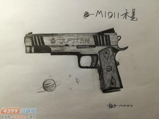 ÉúËÀ¾Ñ»÷Íæ¼ÒÊÖ»æ-M1911ľÐÇ