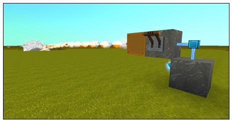 迷你世界手游怎么造大炮 简易连射大炮