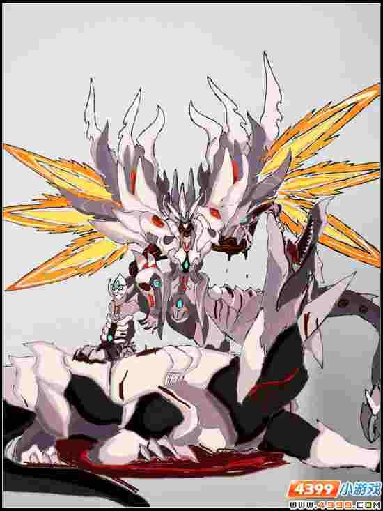 赛尔号自创精灵 尊皇哈莫之威龙形态