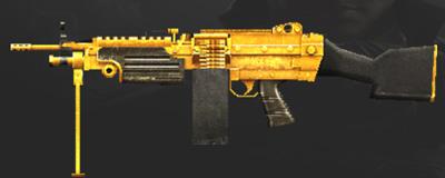 CF手游黄金M249