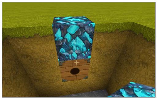 迷你世界钻石陷阱教程 隐形陷阱