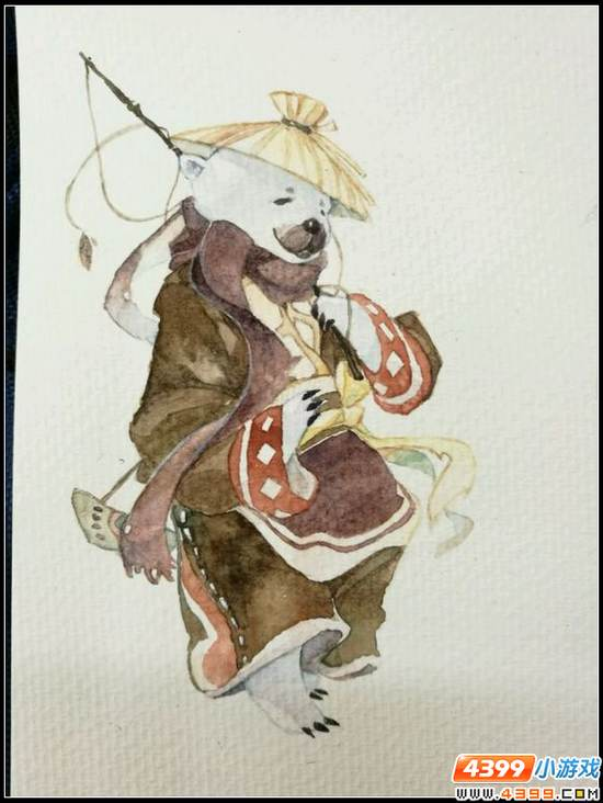 赛尔号手绘 熊版波拉