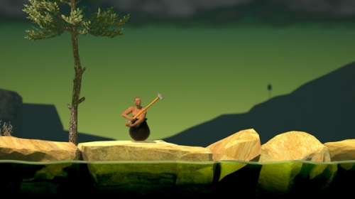 Getting over it正版