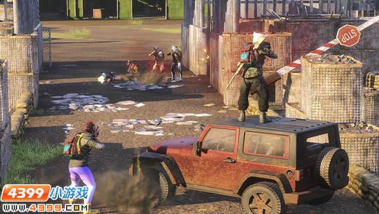 H1Z1生存王者游戏画面曝光 毒气扩散争夺生存机会