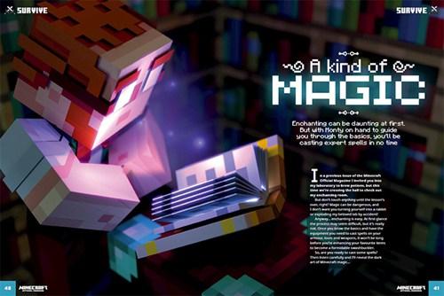 我的世界杂志第三期发售 圣诞主题确定