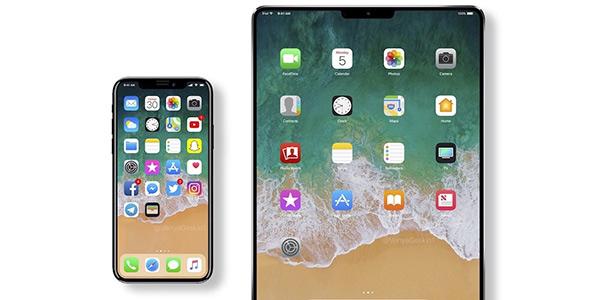 刘海成标配 新iPad外形类似iPhoneX全面屏