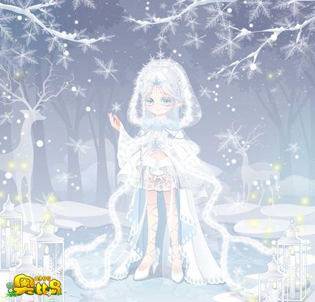 奥比岛冰雪女神典依