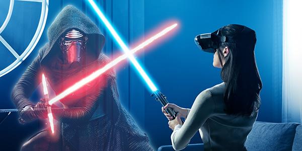 你渴望真正的原力吗?《星球大战》AR游戏上架让你亲身扮演绝地武士!