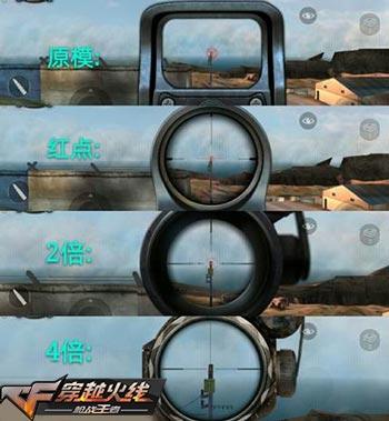 CF手游瞄镜